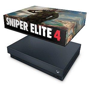 Xbox One X Capa Anti Poeira - Sniper Elite 4