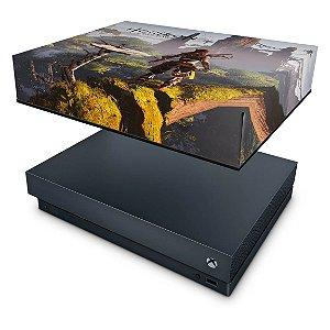 Xbox One X Capa Anti Poeira - Horizon Zero Dawn