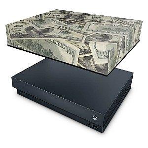 Xbox One X Capa Anti Poeira - Dollar Money Dinheiro