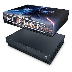 Xbox One X Capa Anti Poeira - Star Wars - Battlefront 2