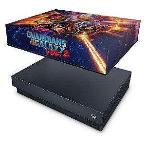 Xbox One X Capa Anti Poeira - Guardiões da Galáxia Vol 2