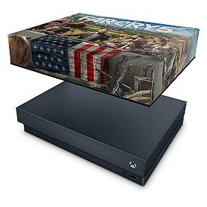 Xbox One X Capa Anti Poeira - Far Cry 5
