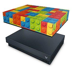 Xbox One X Capa Anti Poeira - Lego