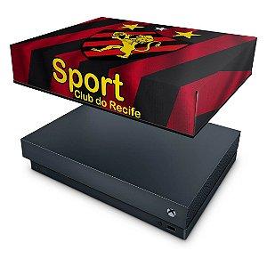 Xbox One X Capa Anti Poeira - Sport Club do Recife