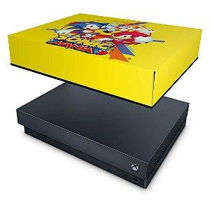 Xbox One X Capa Anti Poeira - Sonic Mania