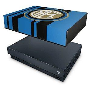 Xbox One X Capa Anti Poeira - Inter De Milao FC