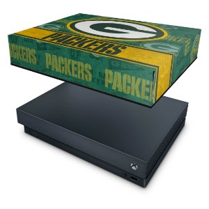 Xbox One X Capa Anti Poeira - Green Bay Packers NFL