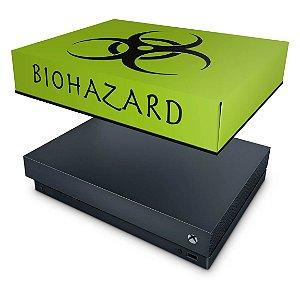 Xbox One X Capa Anti Poeira - Biohazard Radioativo