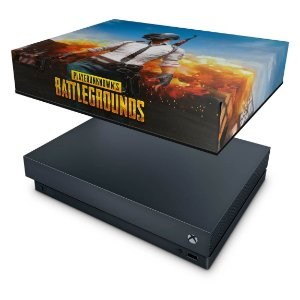 Xbox One X Capa Anti Poeira - Players Unknown Battlegrounds PUBG