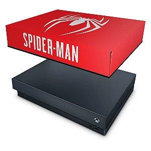 Xbox One X Capa Anti Poeira - Spider-man Bundle