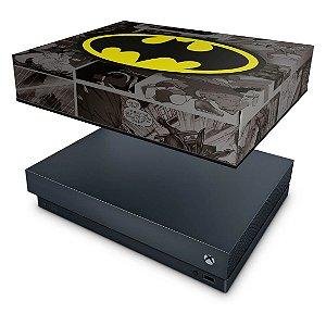 Xbox One X Capa Anti Poeira - Batman Comics