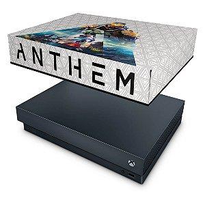 Xbox One X Capa Anti Poeira - Anthem