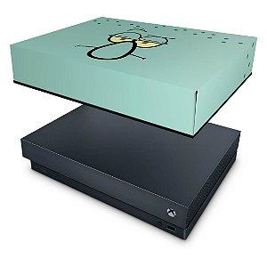 Xbox One X Capa Anti Poeira - Lula Molusco Bob Esponja