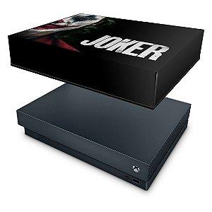 Xbox One X Capa Anti Poeira - Joker Coringa Filme