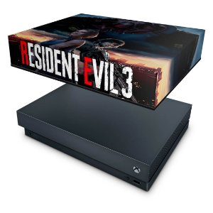 Xbox One X Capa Anti Poeira - Resident Evil 3 Remake