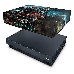 Xbox One X Capa Anti Poeira - Assassin's Creed Valhalla