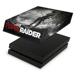 PS4 Fat Capa Anti Poeira - Tomb Raider