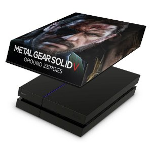 PS4 Fat Capa Anti Poeira - Metal Gear Solid V