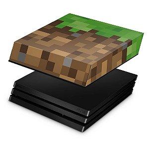 PS4 Fat Capa Anti Poeira - Minecraft