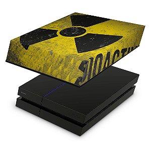 PS4 Fat Capa Anti Poeira - Radioativo
