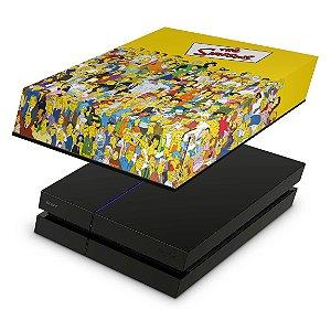 PS4 Fat Capa Anti Poeira - The Simpsons