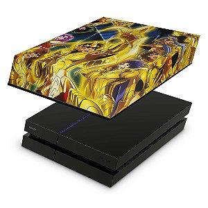 PS4 Fat Capa Anti Poeira - Cavaleiros Do Zodiaco