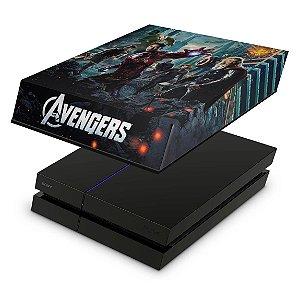 PS4 Fat Capa Anti Poeira - The Avengers - Os Vingadores