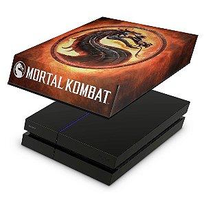 PS4 Fat Capa Anti Poeira - Mortal Kombat