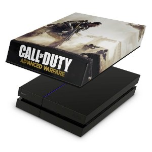PS4 Fat Capa Anti Poeira - Call Of Duty Advanced Warfare