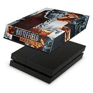 PS4 Fat Capa Anti Poeira - Battlefield Hardline