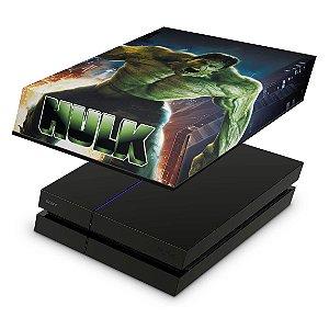 PS4 Fat Capa Anti Poeira - Hulk