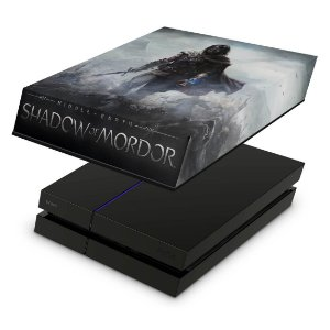 PS4 Fat Capa Anti Poeira - Middle Earth: Shadow Of Mordor