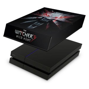 PS4 Fat Capa Anti Poeira - The Witcher #A