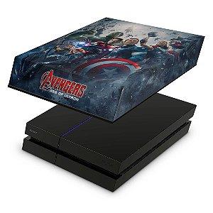 PS4 Fat Capa Anti Poeira - Avengers - Age Of Ultron