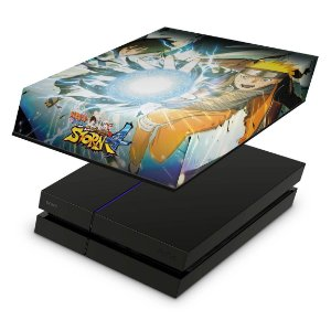 PS4 Fat Capa Anti Poeira - Naruto Shippuden: Ultimate Ninja Storm 4