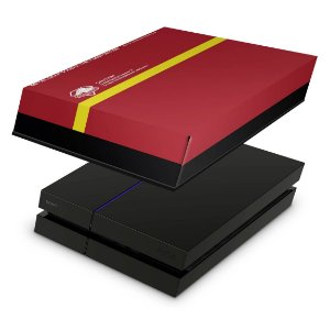 PS4 Fat Capa Anti Poeira - The Metal Gear Solid 5 Special Edition