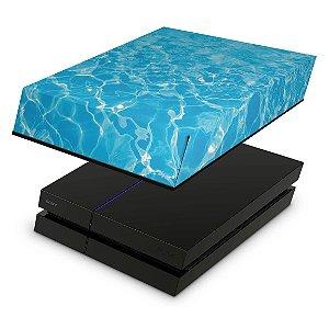 PS4 Fat Capa Anti Poeira - Aquático Água