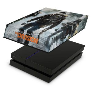 PS4 Fat Capa Anti Poeira - Tom Clancy'S The Division