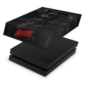 PS4 Fat Capa Anti Poeira - Daredevil Demolidor