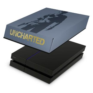 PS4 Fat Capa Anti Poeira - Uncharted 4 Limited Edition