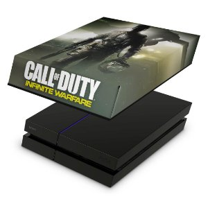 PS4 Fat Capa Anti Poeira - Call Of Duty: Infinite Warfare