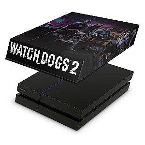 PS4 Fat Capa Anti Poeira - Watch Dogs 2