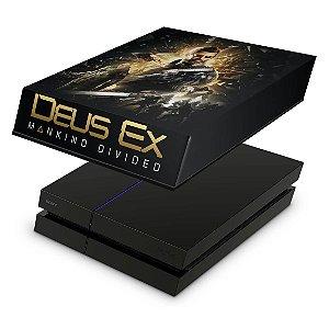 PS4 Fat Capa Anti Poeira - Deus Ex: Mankind Divided