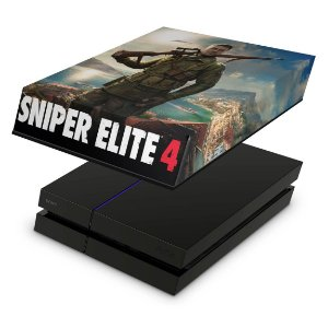 PS4 Fat Capa Anti Poeira - Sniper Elite 4