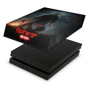 PS4 Fat Capa Anti Poeira - Friday The 13Th The Game Sexta-Feira 13