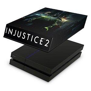 PS4 Fat Capa Anti Poeira - Injustice 2