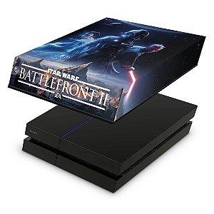 PS4 Fat Capa Anti Poeira - Star Wars - Battlefront 2