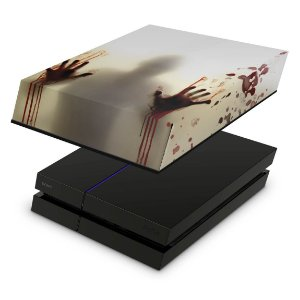 PS4 Fat Capa Anti Poeira - Fear The Walking Dead