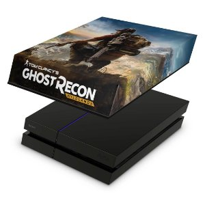 PS4 Fat Capa Anti Poeira - Tom Clancy'S Ghost Recon Wildlands