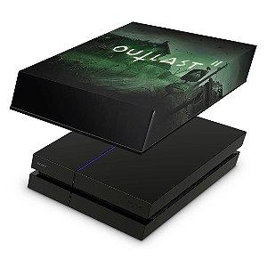 PS4 Fat Capa Anti Poeira - Outlast 2